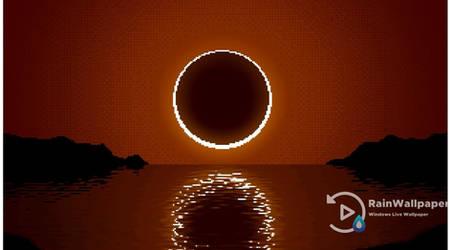 Pixel Eclipse by Jimking