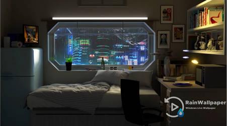 Futuristic Room Apartment by Jimking