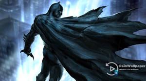 Batman Rain-Gotham City