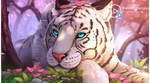 White Tiger Cherry Blossom by Jimking