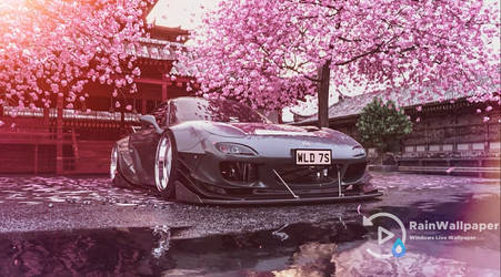 RX-7 Mazda Cherry Blossom by Jimking