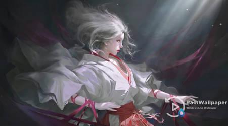 Red Ribbon Lady by Jimking