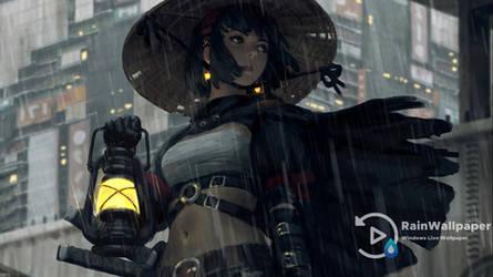 Samurai Girl 4 Guweiz LWP by Jimking
