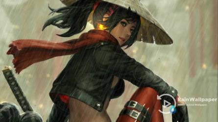 Samurai Girl 3 Guweiz LWP by Jimking