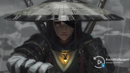 Samurai Girl 2 Guweiz LWP by Jimking