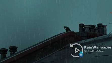Rain On Rooftop by Jimking