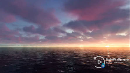 Oceanic Sunset Live Wallpaper by Jimking