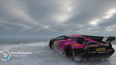 Pink Lamborghini by Jimking