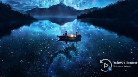 Lake Night Sky by Jimking