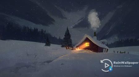 Cabin Fireworks by Jimking