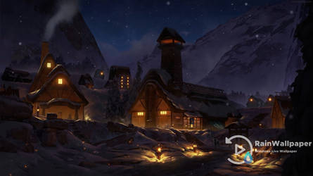 Snow Village by Jimking