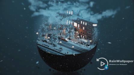 Snow Sphere by Jimking