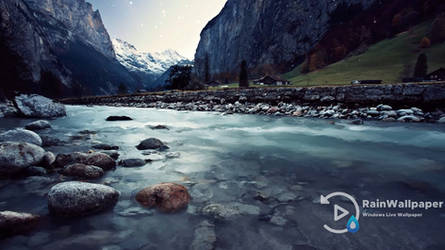 Icy River by Jimking