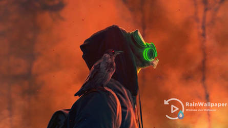 Gas Mask Wildfire by Jimking