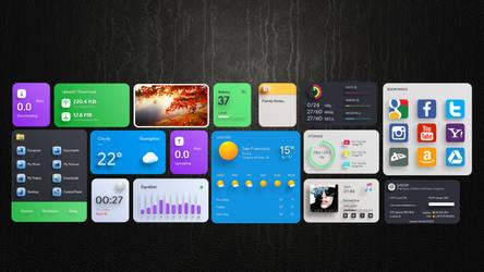 i3D Widgets Pack for xwidget