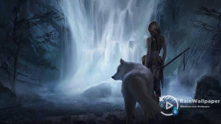Princess Mononoke Waterfall by Jimking