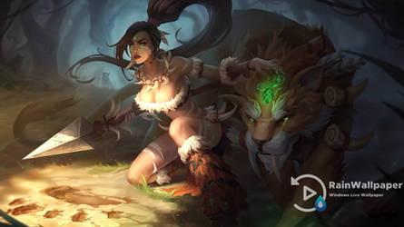 Nidalee the Bestial Huntress by Jimking