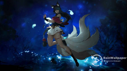 Ahri The Nine Tailed Fox by Jimking