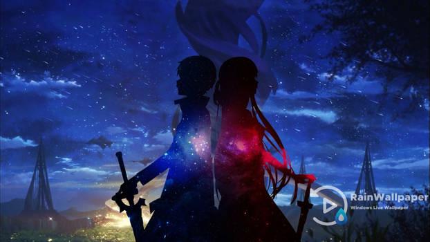 Kirito Asuna-Sword Art