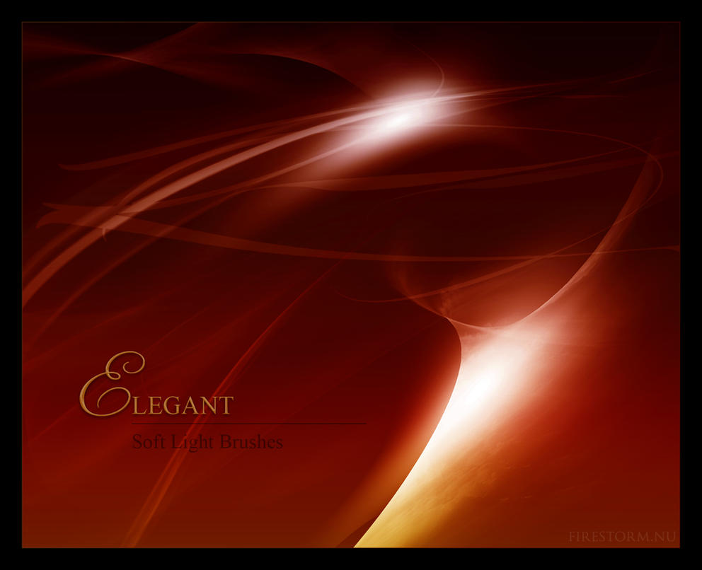 Elegant - Soft Light Brushes by aleaja