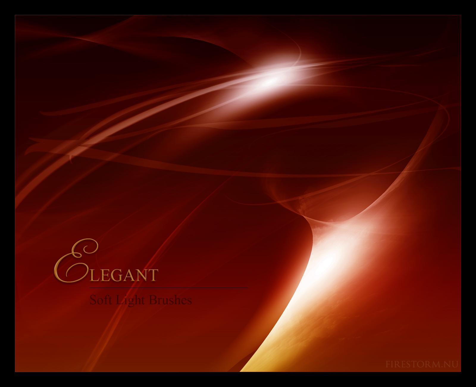 Elegant - Soft Light Brushes by aleaja