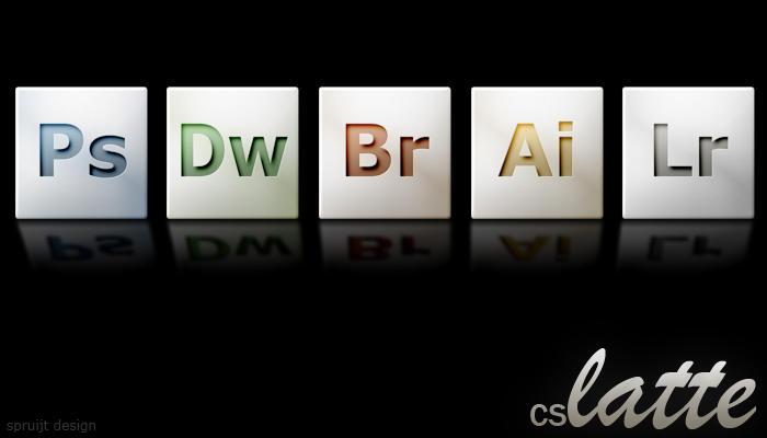 Adobe CS latte icons by adamspruijt