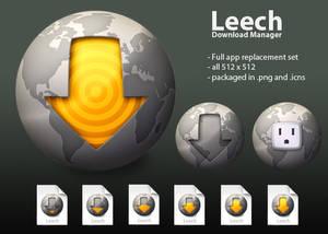 Leech Icon Replacement set