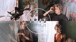 PSD #001: Iris by anoushkaaa