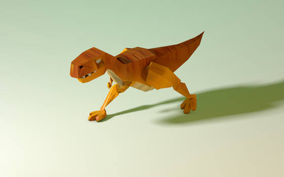Tyrannosaurus Rex Walking