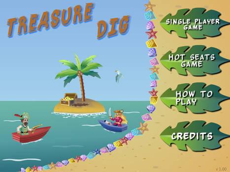 Treasure Dig - The Flash Game