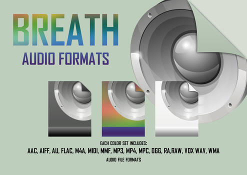 BREATH - AUDIO FORMATS