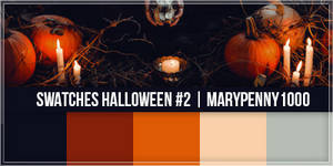 Swatches Halloween #2 - MaryPenny1000