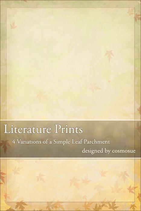 Seasonal Leaves Templates by PrintsForLit