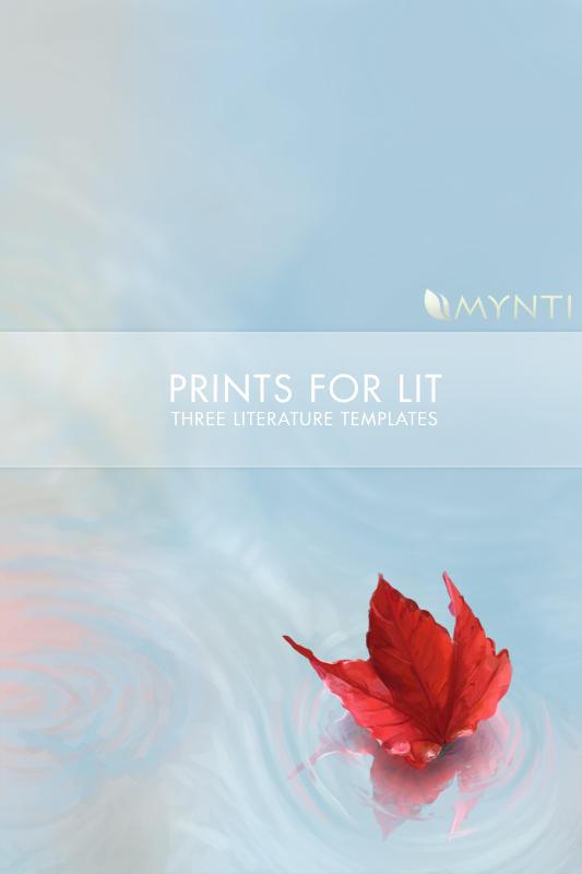 mynti Autumn Leaf by PrintsForLit