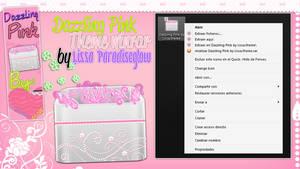 Dazzling Pink Winrar Theme