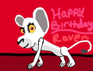 Happy Early Birthday albinoraven666fanart!