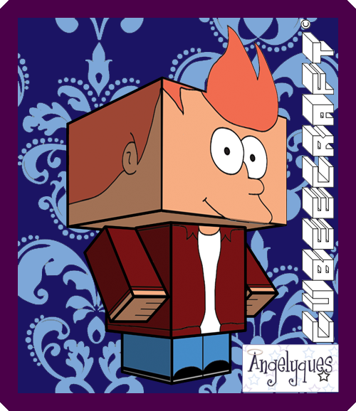 Fry Cubeecraft by angelyques