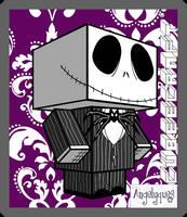 Jack Skellington Cubeecraft by angelyques