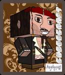 Jack Sparrow Cubeecraft