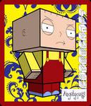 Stewie Griffin Cubeecraft