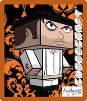 Clockwork Orange Cubeecraft by angelyques