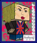 Rose Tyler Cubeecraft