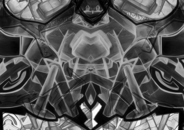 mirrored graffiti brushes by ArfW