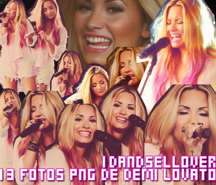 13 png de Demi Lovato by 1DAndSelLover