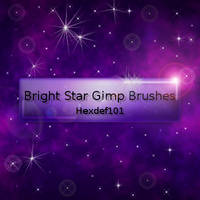 Bright Star Gimp Brushes by hexdef101
