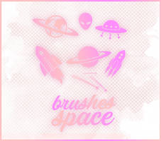 Brushes Space by exoyeol