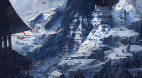 Forbidden City of the Frozen by ARTdesk