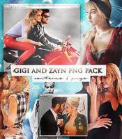 Gigi and Zayn 6 Pngs by xjowey02 by xjowey02