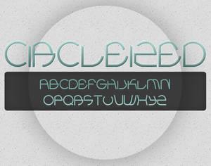 C I R C L E I Z E D  font