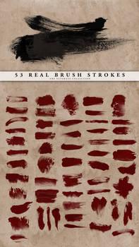 Real Brush Strokes Set